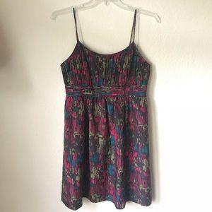 Halogen, size 8, print dress